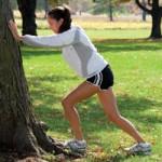 aa runner stretching
